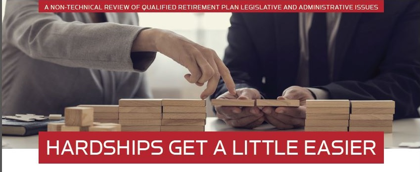 REVIEW OF QUALIFIED RETIREMENT PLAN LEGISLATION – Fall 2018 Newsletter