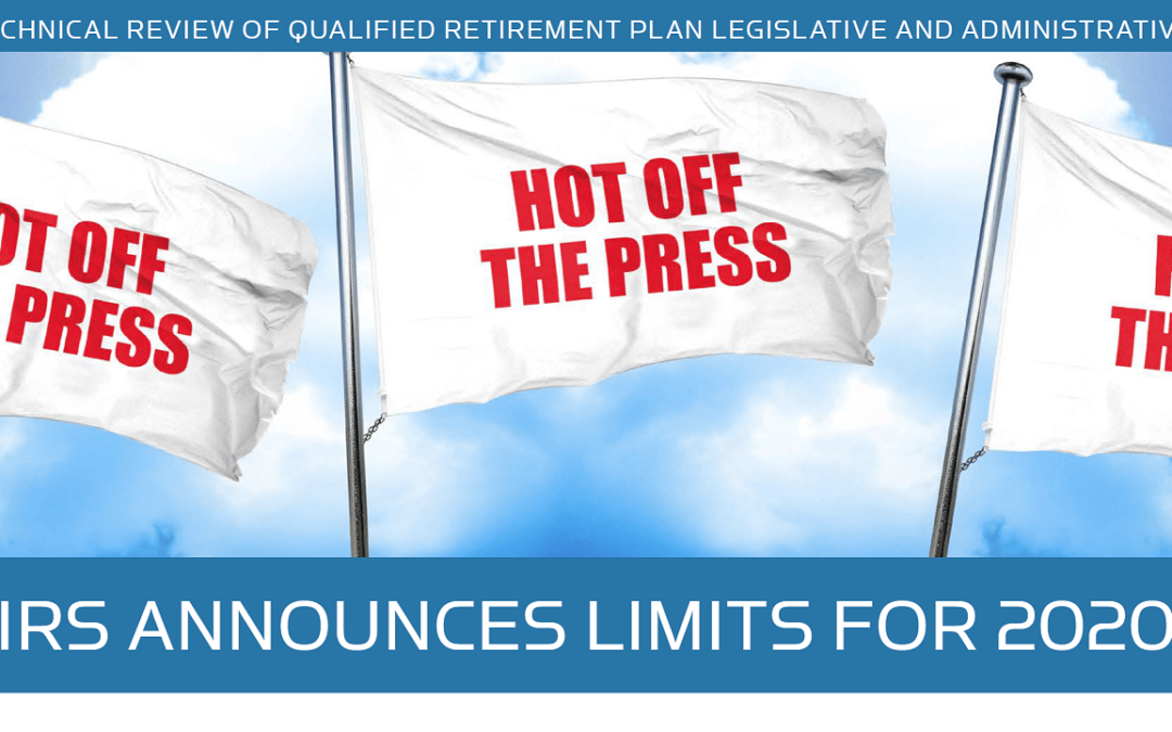 REVIEW OF QUALIFIED RETIREMENT PLAN LEGISLATION – Winter 2019 Newsletter